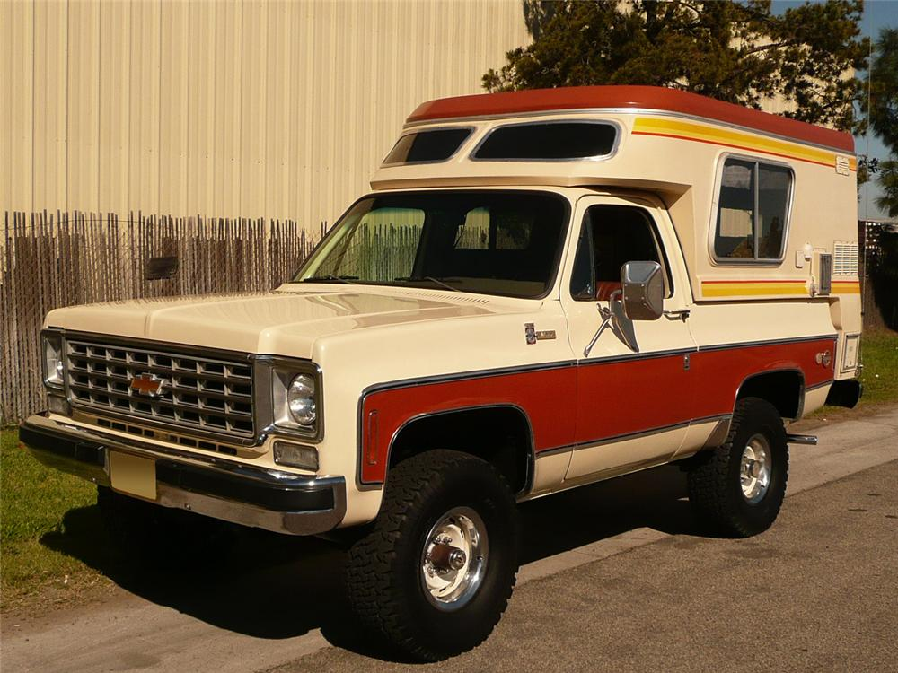 Camping With The Bizarre Chevy Blazer Chalet Drivezing