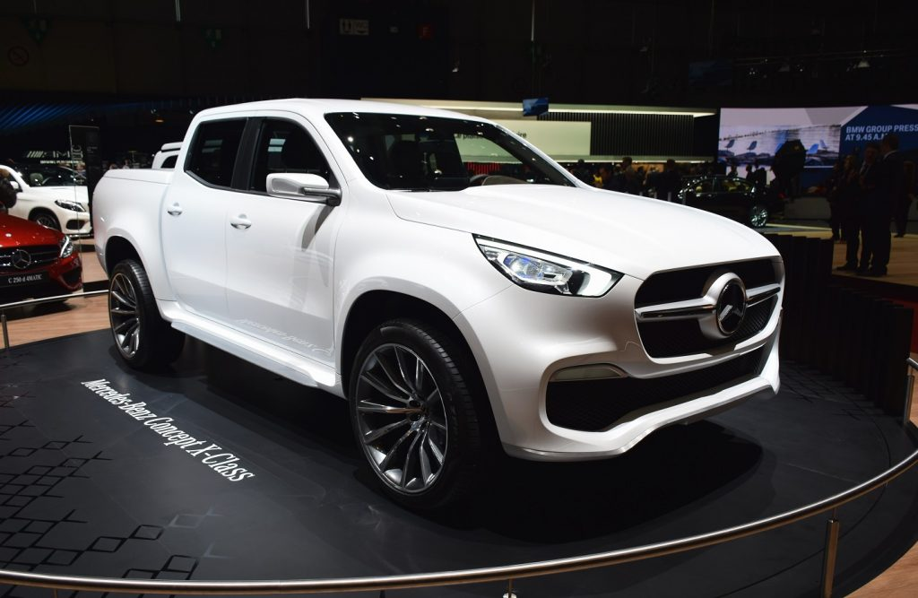 The Sweet New Mercedes Truck You Cant Buy