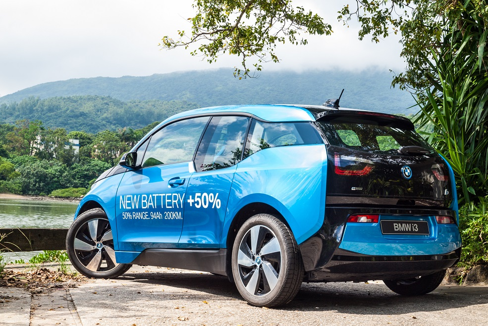 Updated BMW i3 Doubles Range