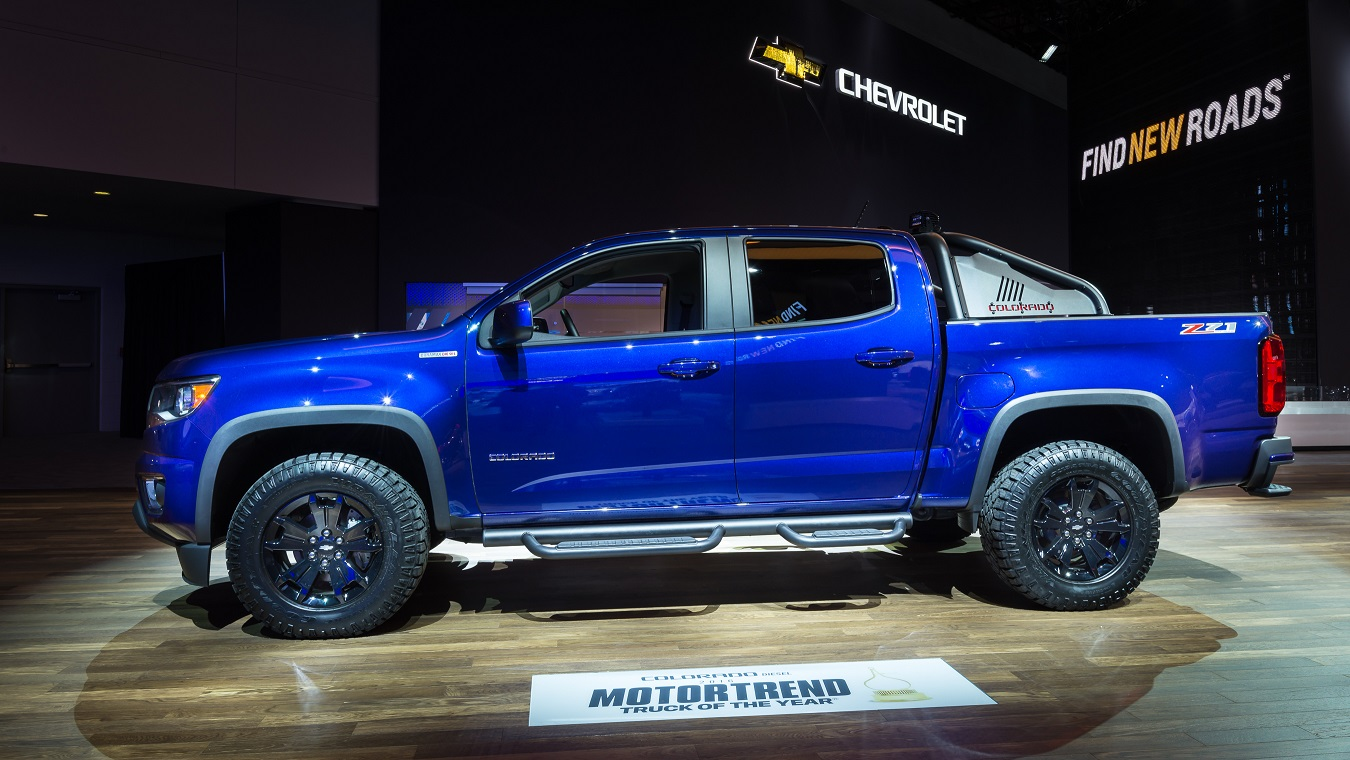 Chevy Colorado Impressions and Numbers