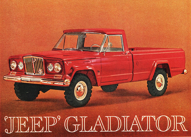 the jeep gladiator jeep s best ever pickup truck. Black Bedroom Furniture Sets. Home Design Ideas