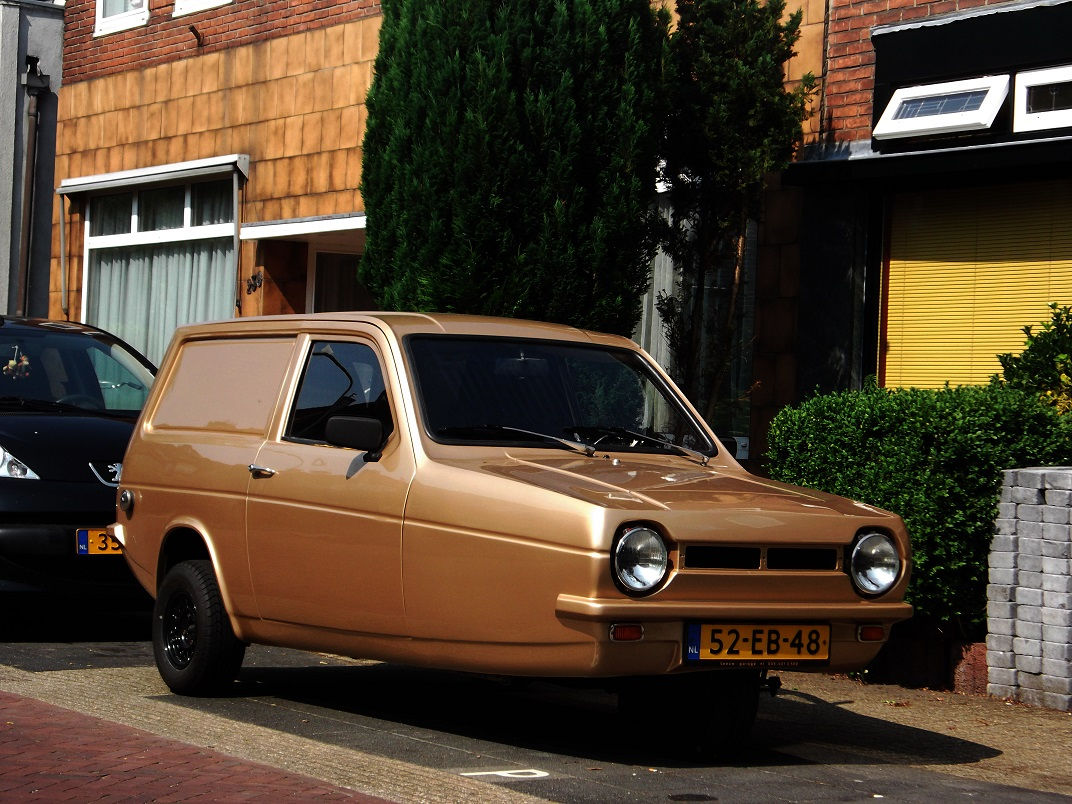 The Reliant Robin The Dumbest Car Ever Made
