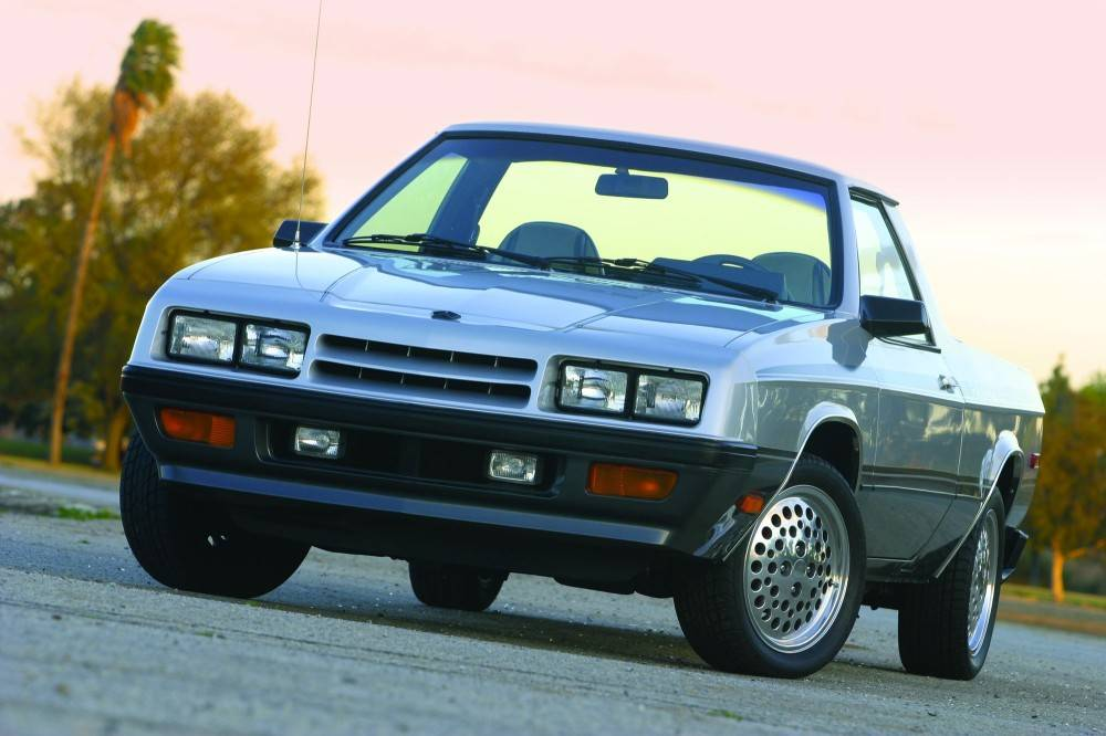 Dodge Rampage, The Other, Other Car-Truck