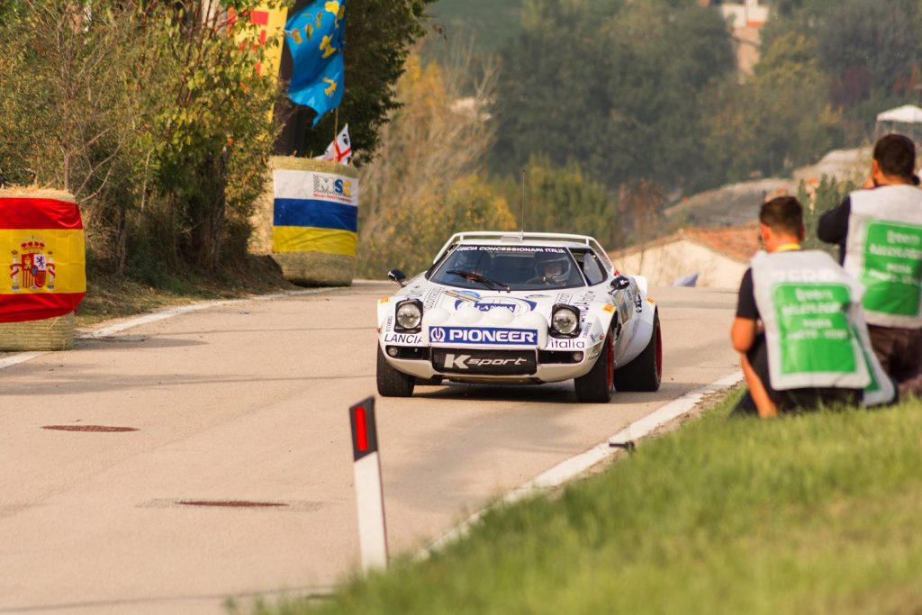 Lancia Stratos at 1975 World Rally Championship