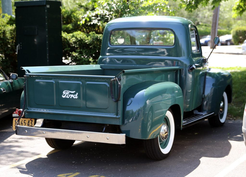 1951 Ford F-1 Pickup Rear End