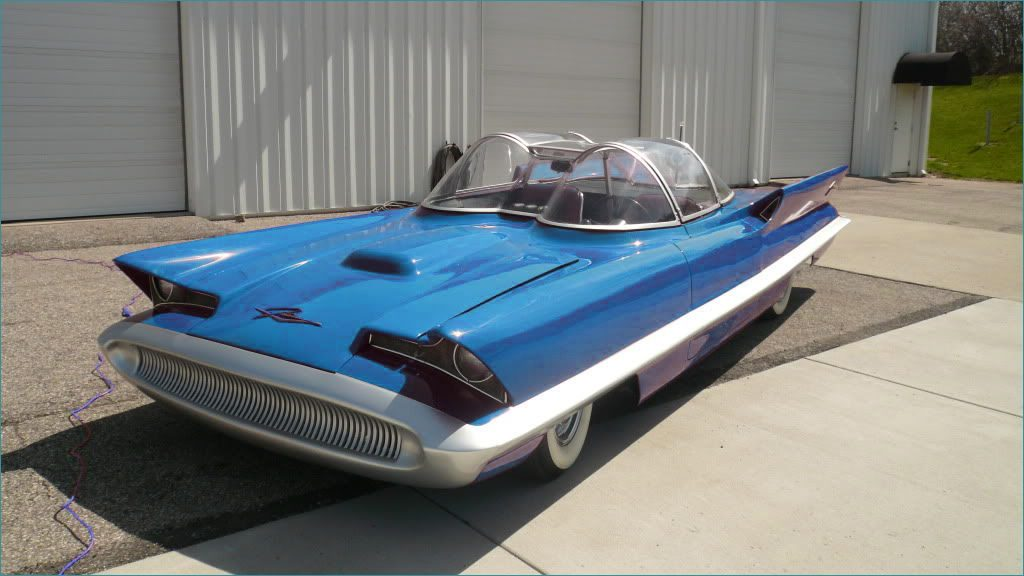 Revisiting Classics The Lincoln Futura